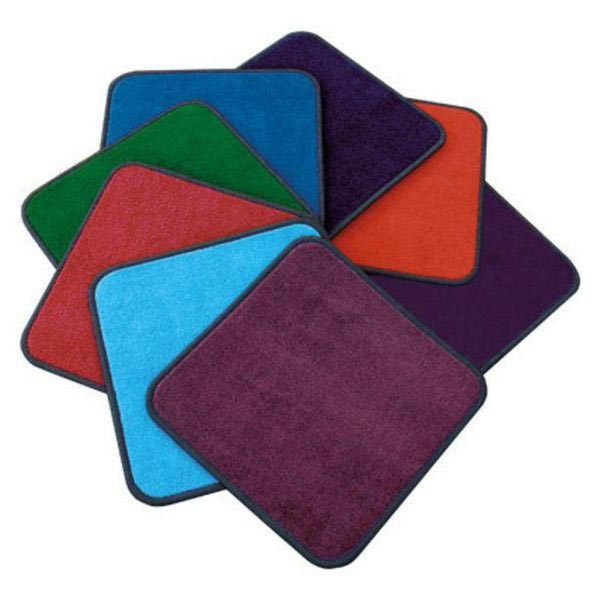 Solid Seating Squares Carpet Squares Classroom Carpets Classroom Rug