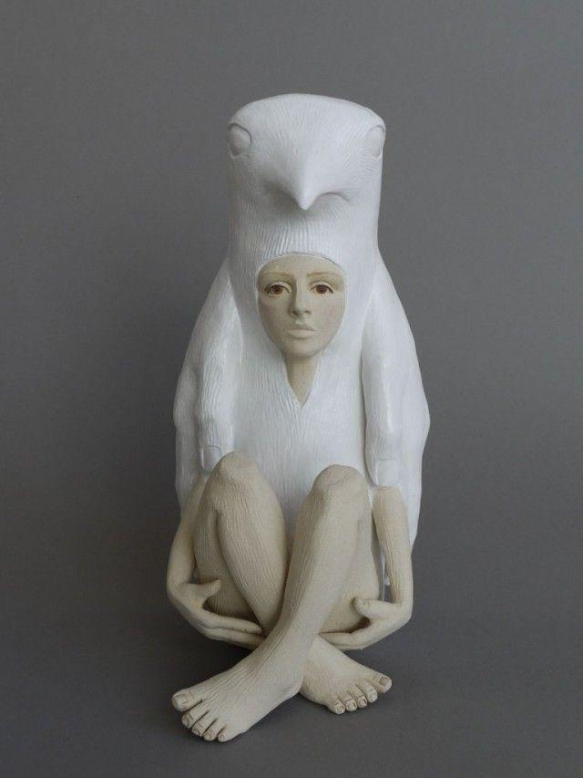 Crystal Morey Ceramic Sculptures Ceramic Sculpture Sculptures Art Dolls