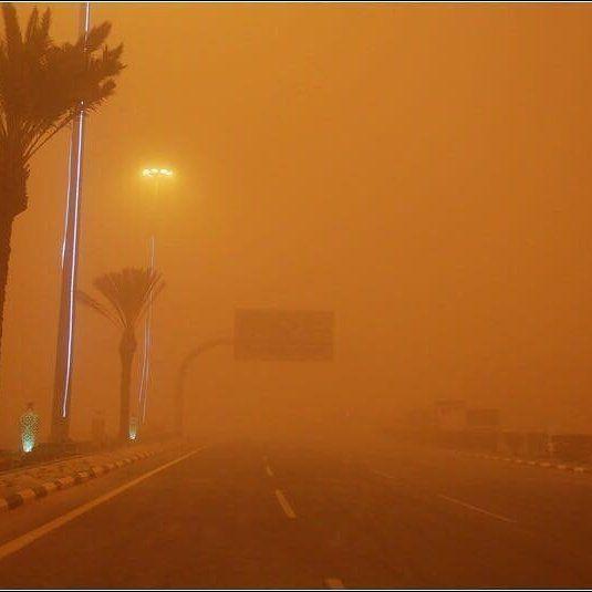 شبكة أجواء السعودية غبار كثيف في رفحاء تصوير صالح الفريح رابطة أجواء الخليج G S Chasers Instagram Instagram Posts Photo