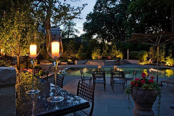 garden lighting by the pool Garden Outdoor Lighting Ideas For Your Little  Paradise - Garden Outdoor Lighting Ideas For Your Little Paradise Outdoor