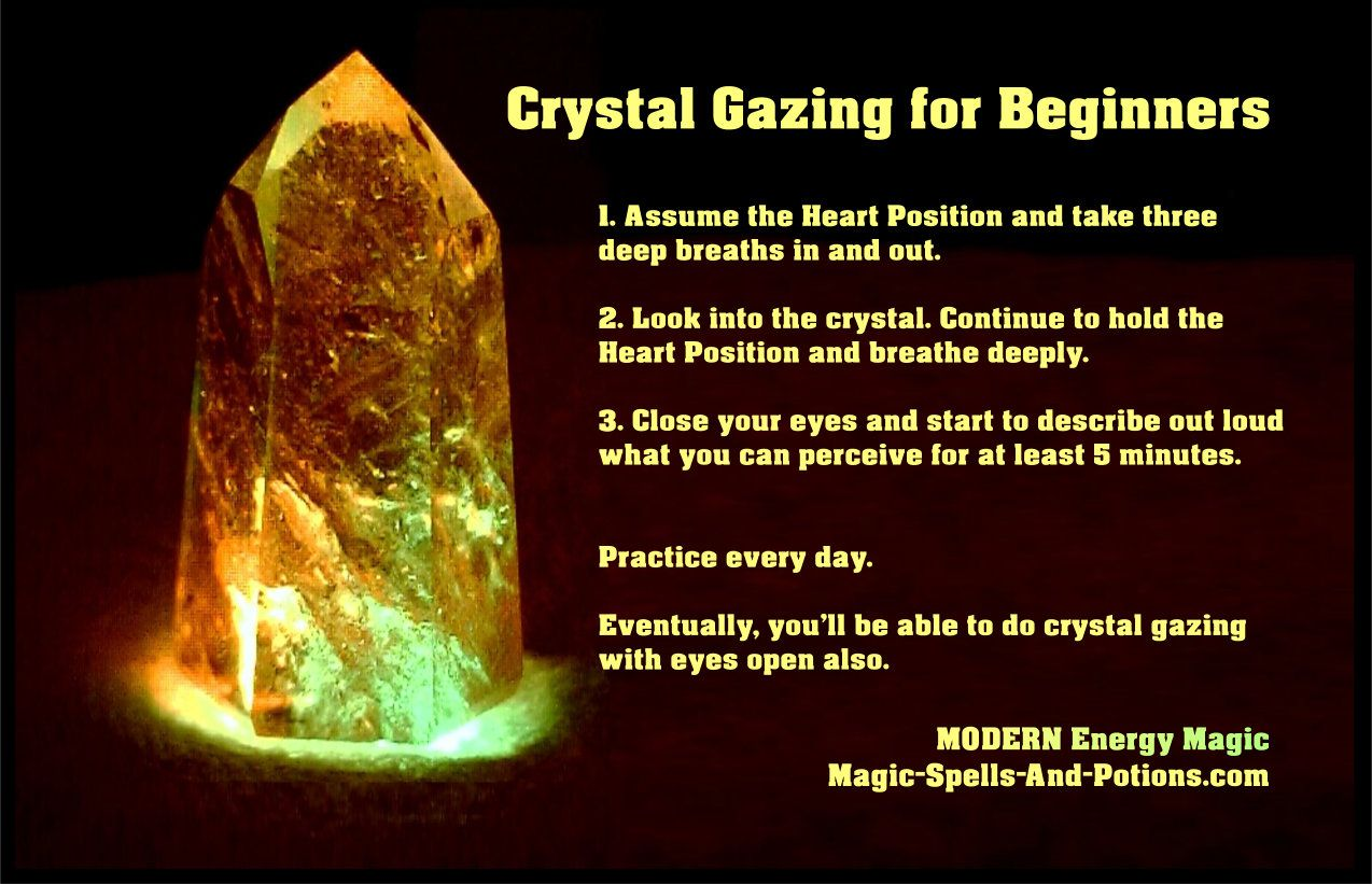Crystal Gazing For Beginners