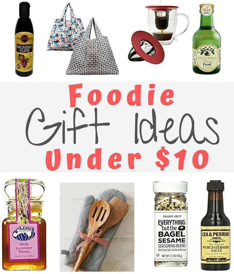 Gift Ideas for your favorite foodie for under $10. Because ...