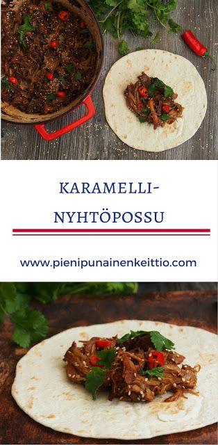 Karamelli- nyhtöpossu - Peggyn pieni punainen keittiö