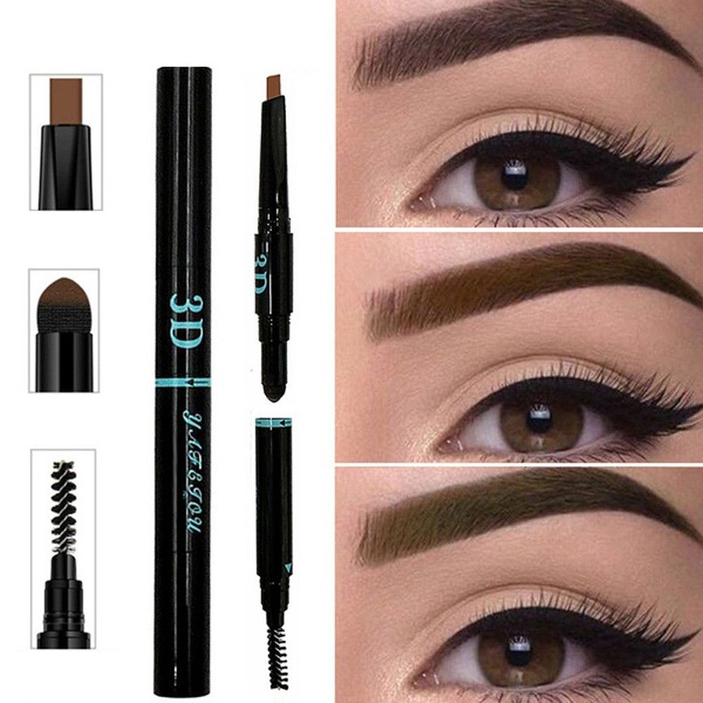 3 IN 1 Eyebrow Tattoo Pen Waterproof Multifunctional