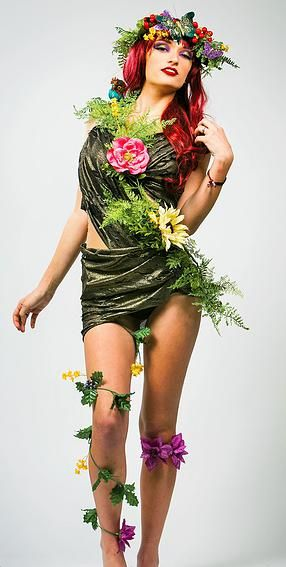 Courtney and Cosmetics Beauty Portfolio Mother Nature Editorial ...