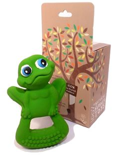 Bo the Frog - 100% natural rubber teether for babies & toddlers #Hevea