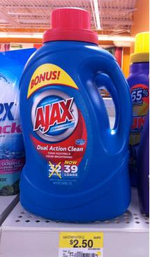 Ajax Detergent Coupon Walmart Deal Now 50 Ajax Laundry Detergent Walmart Deals Bottle
