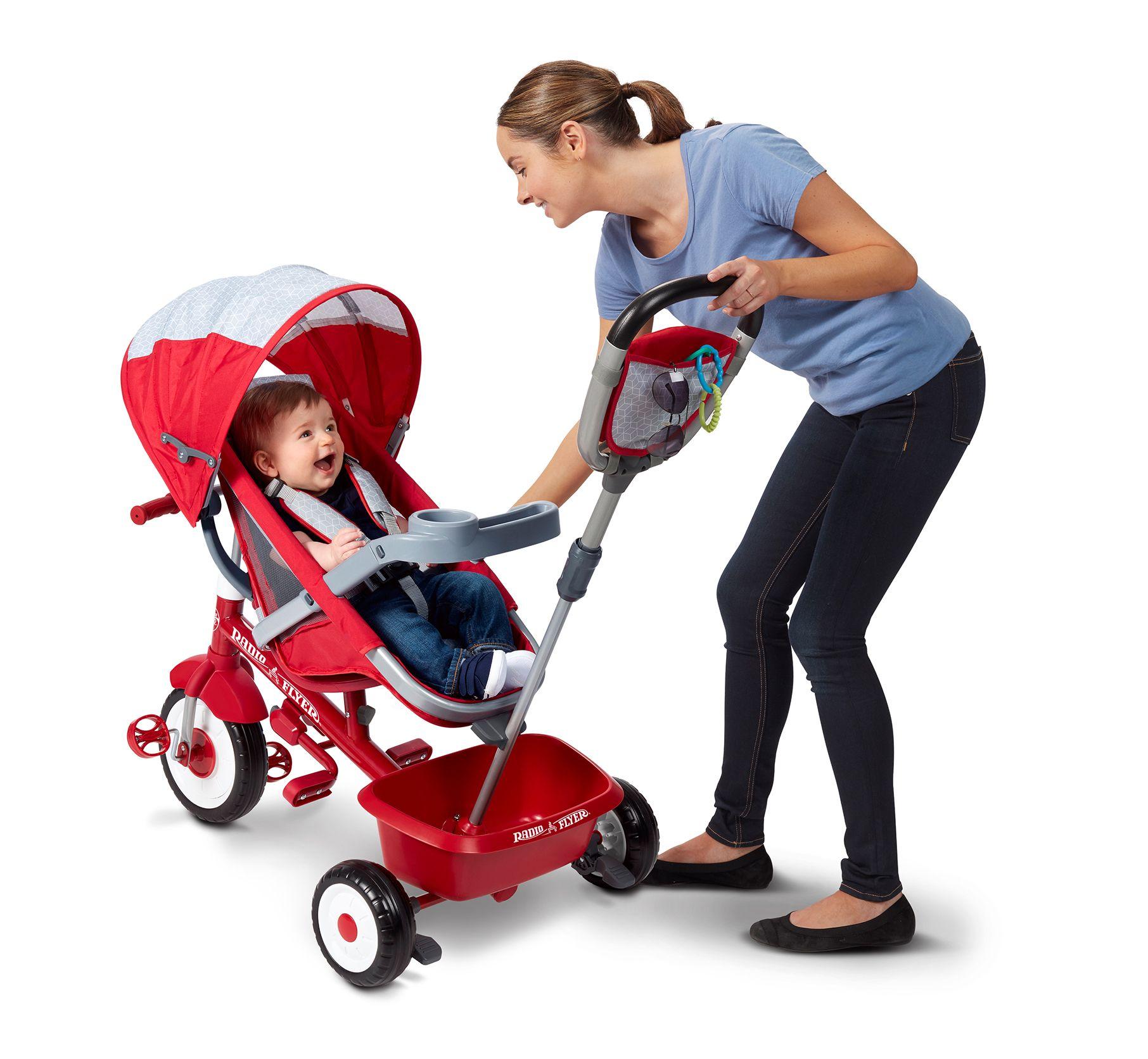 5in1 Stroll 'N Trike® Stroller toys, Radio flyer, Kids