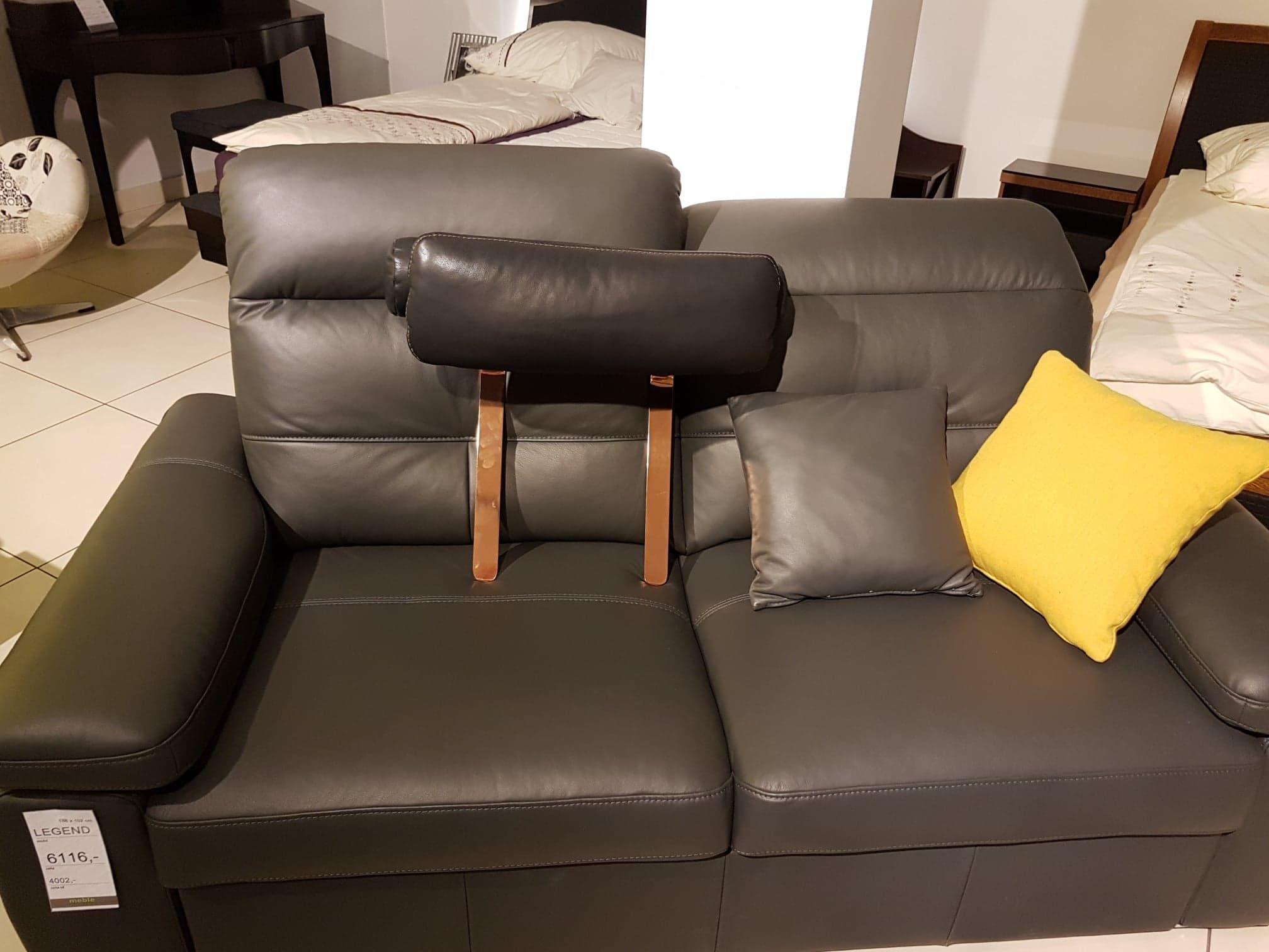 Sofa Steel Zag Wek Nero