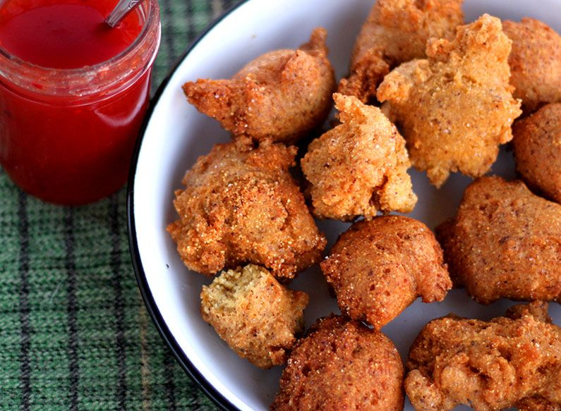 Hush Puppies Recipe Stuffed peppers, Food, Recipes
