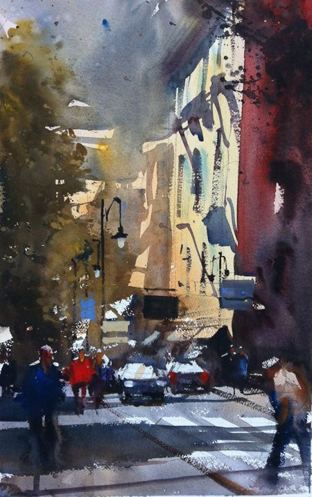 Alfaro Castagnet #watercolor jd