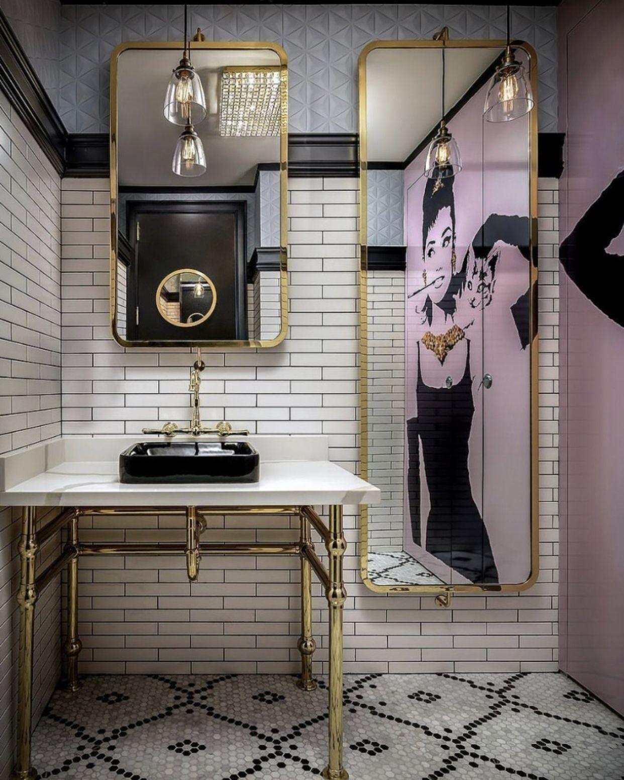 Updating Your Bathroom On A Budget Restaurant Bathroom Modern