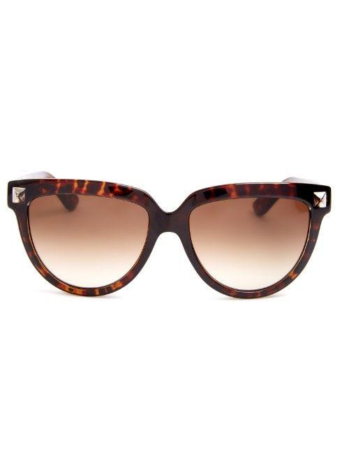 Valentino Rockstud cat-eye frame sunglasses