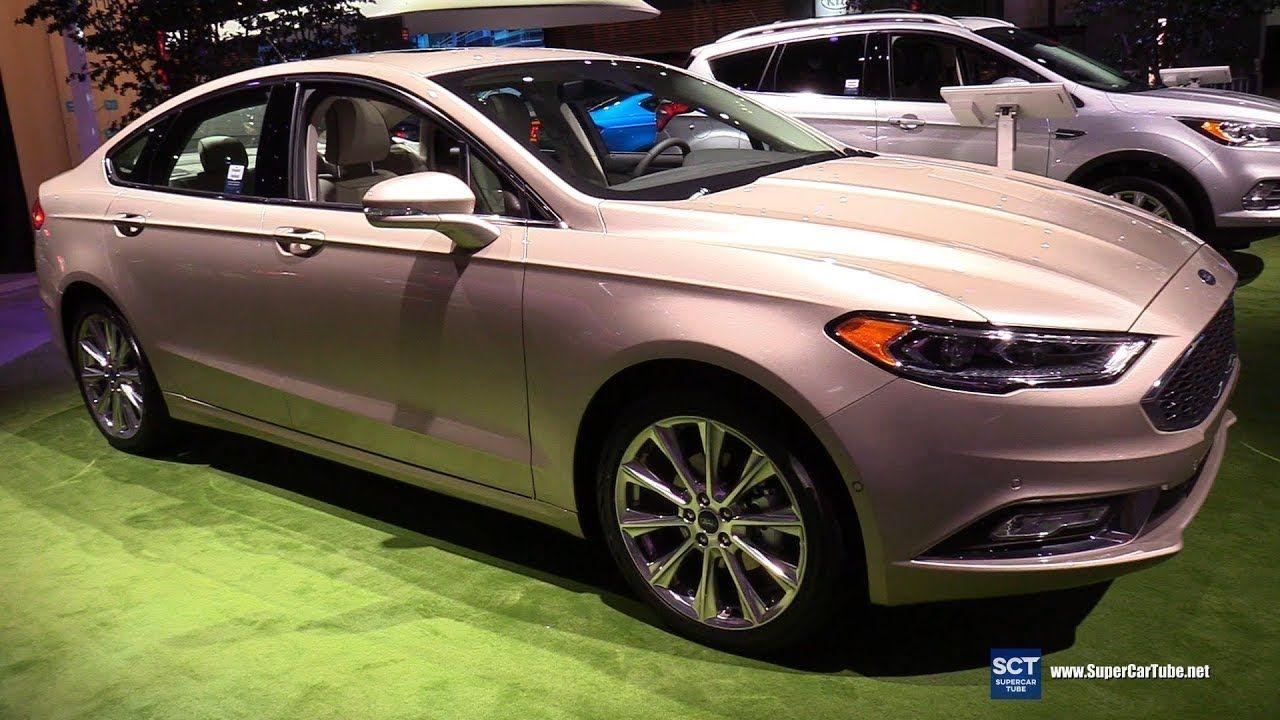 2019 Ford Fusion Platinum Exterior and Interior
