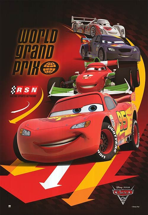 Cars Lightning Mcqueen And Pals With Images Pixar Cars