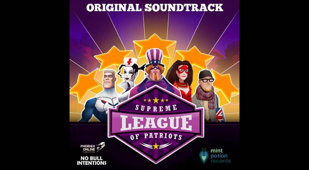 Jake Kaufman - Supreme League of Patriots OST - full album (2016)