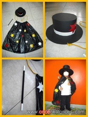 Sihirbaz Kostumu Once Okul Oncesi Ekibi Forum Sitesi Biz Bu