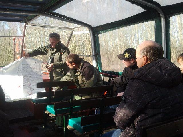 Gastheren Biesbosch met IVN en Staatsbosbeheer op excursie