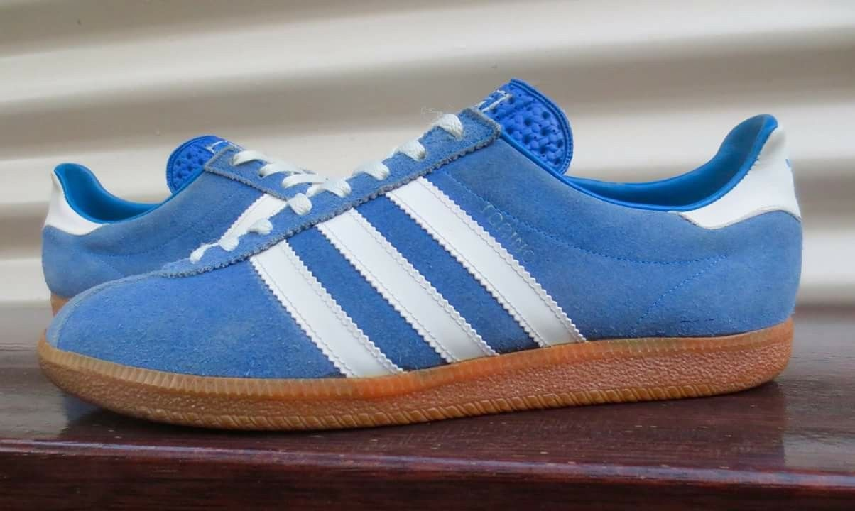 info for 029a0 72633 Adidas Torino made in Yugoslavia. Lovely shade of blue ...