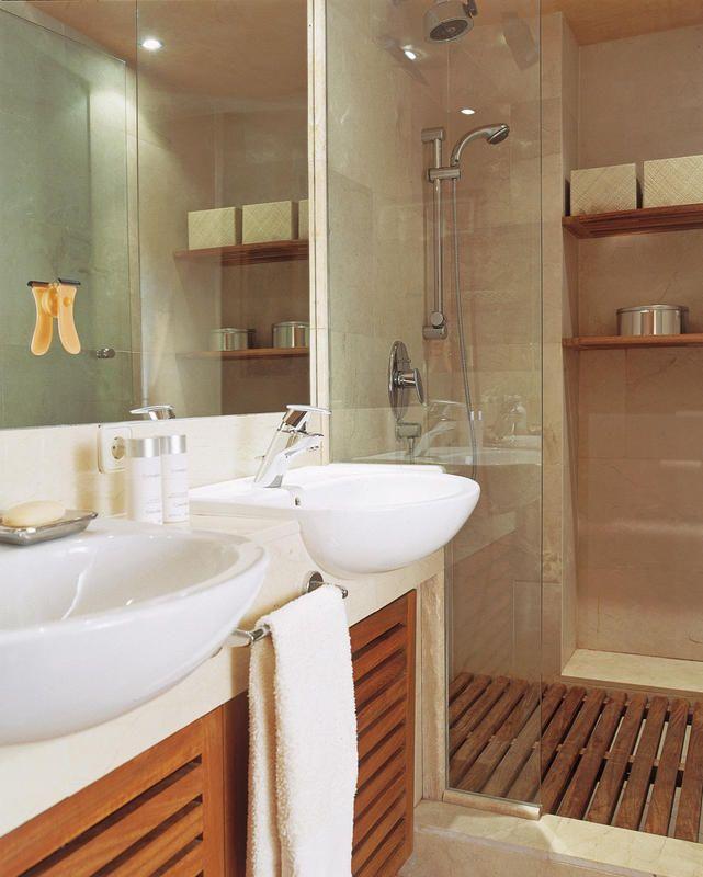 Cuartos de ba o con sentido pr ctico ideas para el hogar Fotos de cuarto de bano