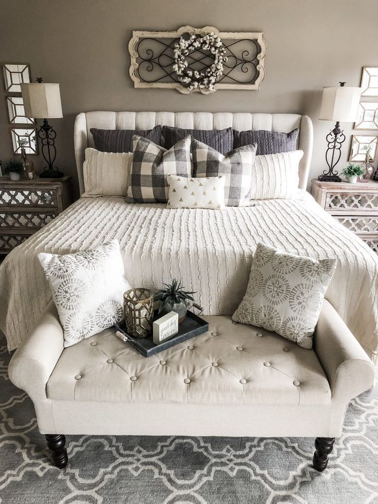 How To Create A Master Bedroom That Is Cozy And Cute Home Decor Bedroom Cozy Master Bedroom Home Decor