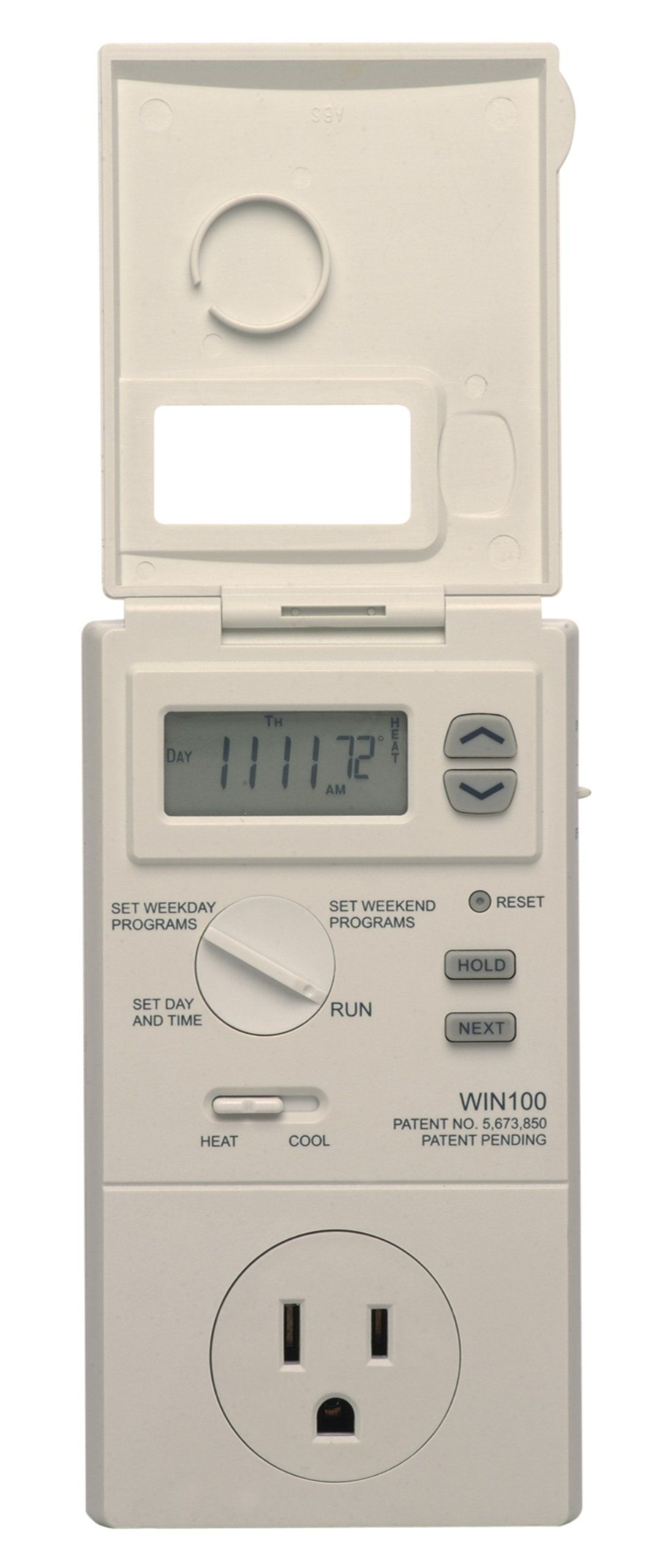 Lux WIN100 Heating & Cooling Programmable Outlet