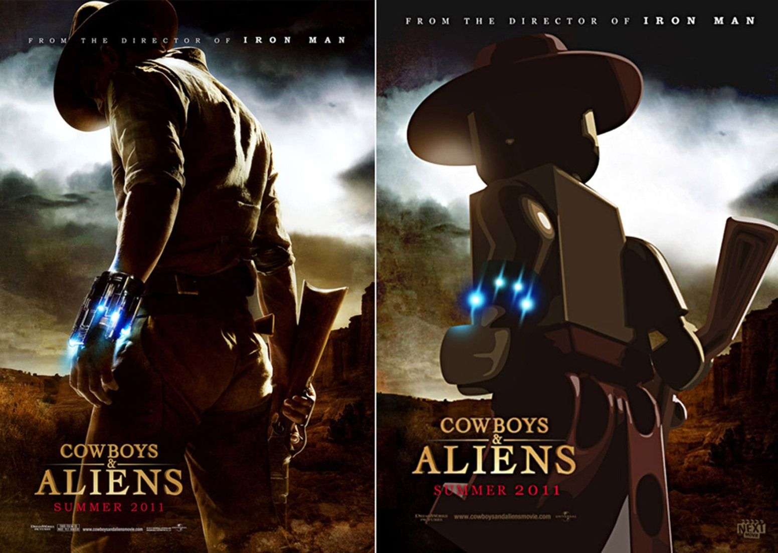 LEGO Movie Cowboys & Aliens Poster | Cowboys & aliens, Lego poster,  Lego film