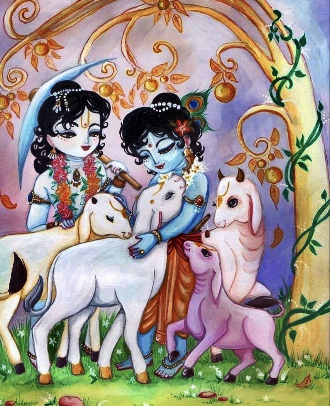 krishna cartoons krishna little krishna radhe krishna pinterest