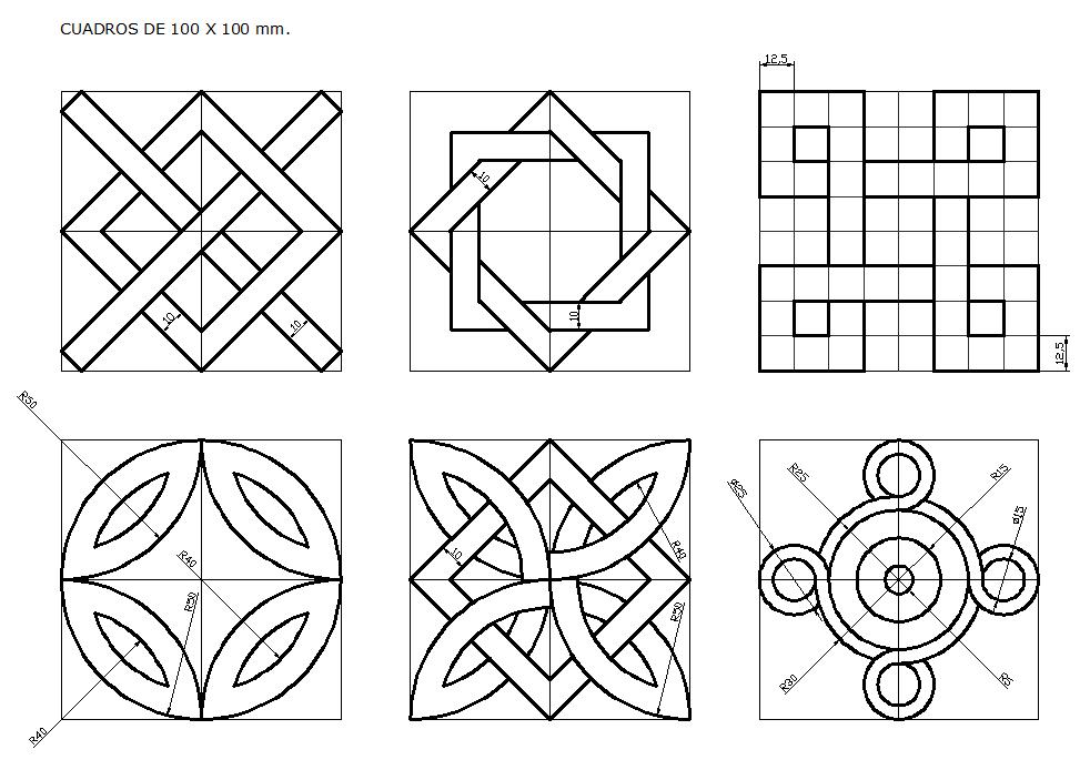 Resultado De Imagen Para Dibujos De Construccion Del Relieve Dessin Geometrique Dessin Quadrillage Dessin Au Compas