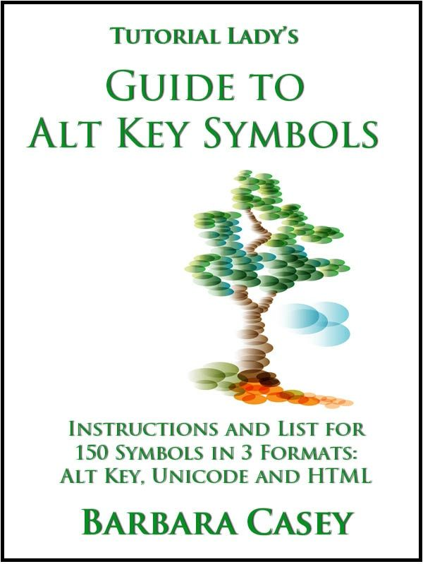 How To Make Keyboard Symbols Using The Alt Key Plus Html Codes