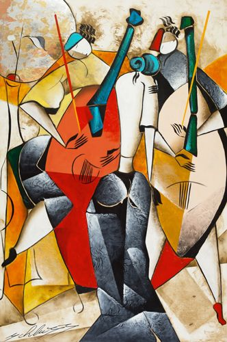 Passion Music Abstract Art
