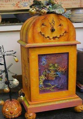 Tôle plaque rétro Halloween