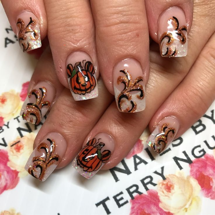 Disney Halloween nails - Character nail art by Terry - # ...