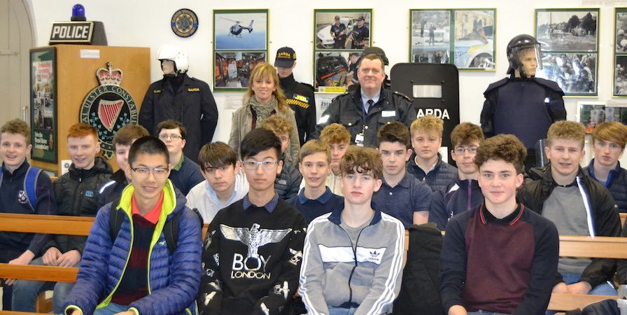 On Thursday, the 19th of January, Ms. Dooley's 3rd year CSPE class travelled to The Garda College in Templemore in Co. Tipperary for their Action Project on Law. The aim…