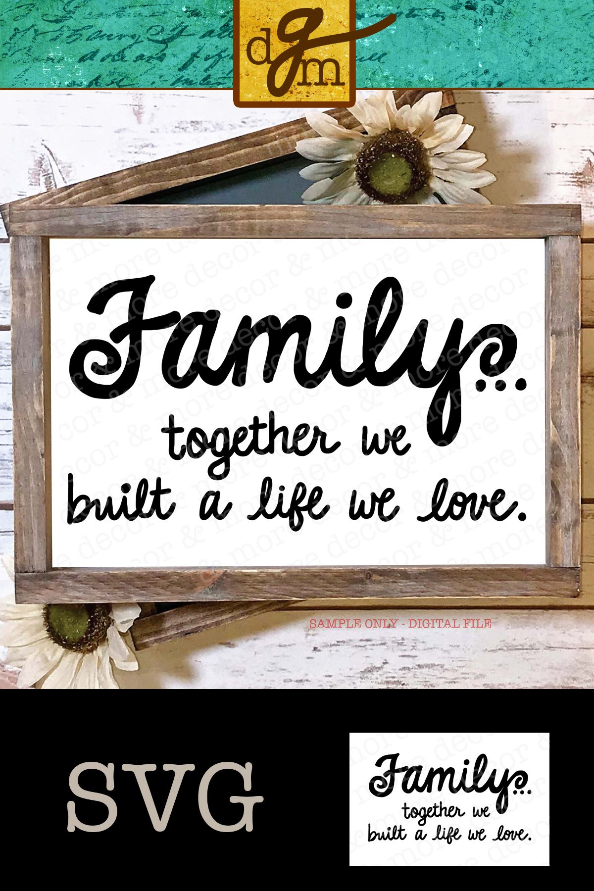 Download Family Quote SVG File, Family Saying SVG, SVG Family ...