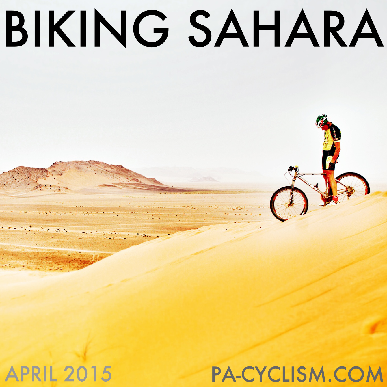 Our bike tour on the Sahara Desert