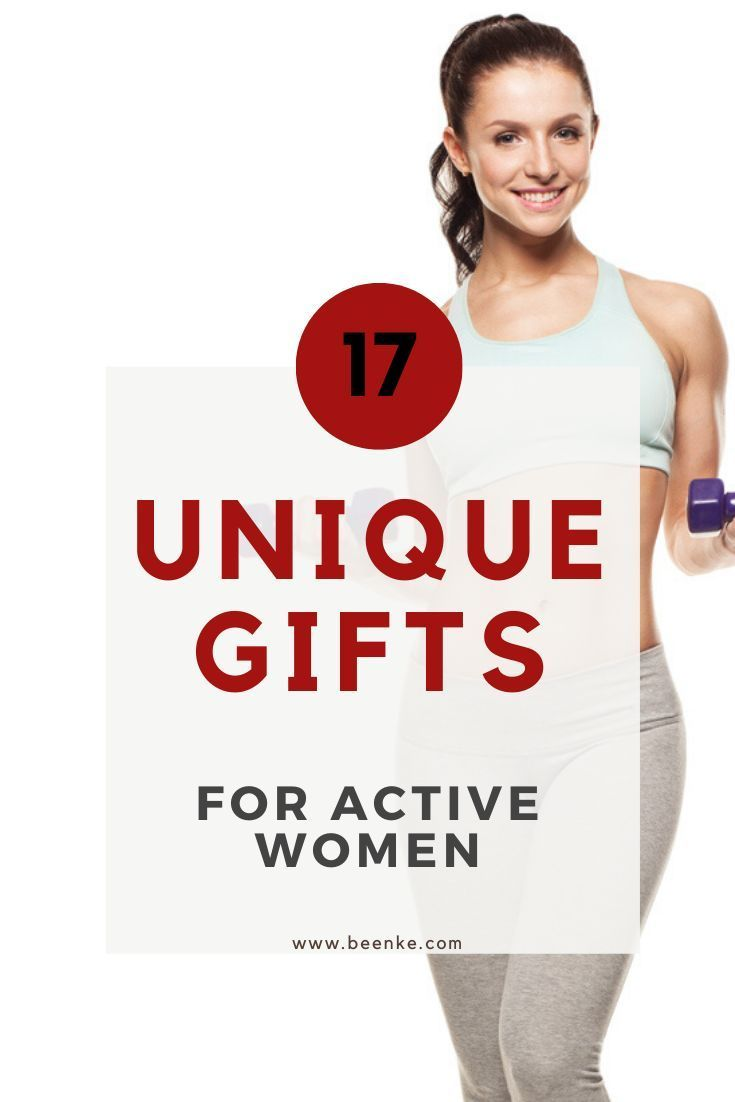 Unique gifts for active women! Whether your friend, girlfriend, or mom is into fitness, travel, or t...