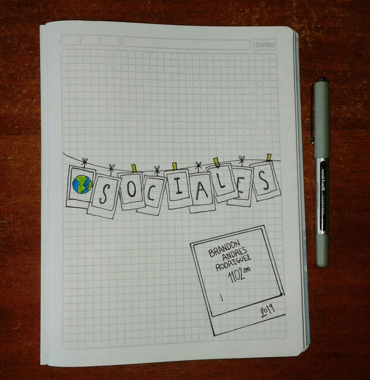 Marcado De Cuadernos.