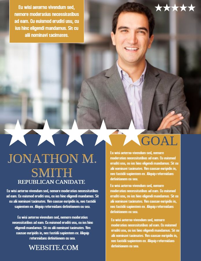Campaign Poster Flyer Social Media Post Template  Campaigning