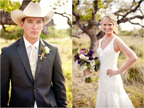 Purple Green Country Chic Wedding From Bend The Light