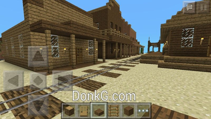 Minecraft PE Old West Town Pinterest
