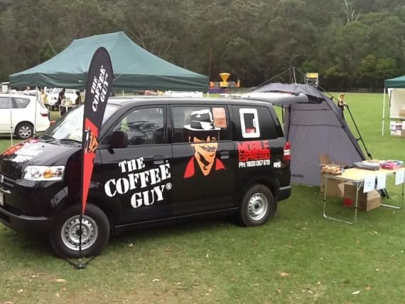 Established Mobile Coffee Van Franchise The Coffee Guy For