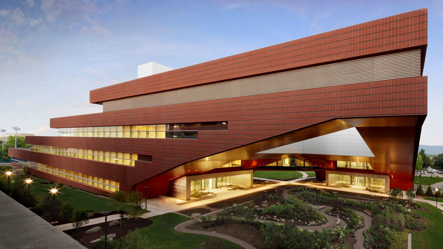 Pennsylvania State University Millennium Science Complex Vinoly Arch2o Com Architecture Urban Design Architecture Architect