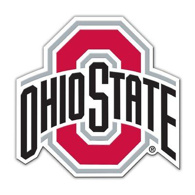 Team Pro Mark Ncaa Vinyl Magnet Ohio State Logo Ohio State