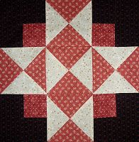 Kathy's Quilts: Saturday Sampler #21 Four Corners