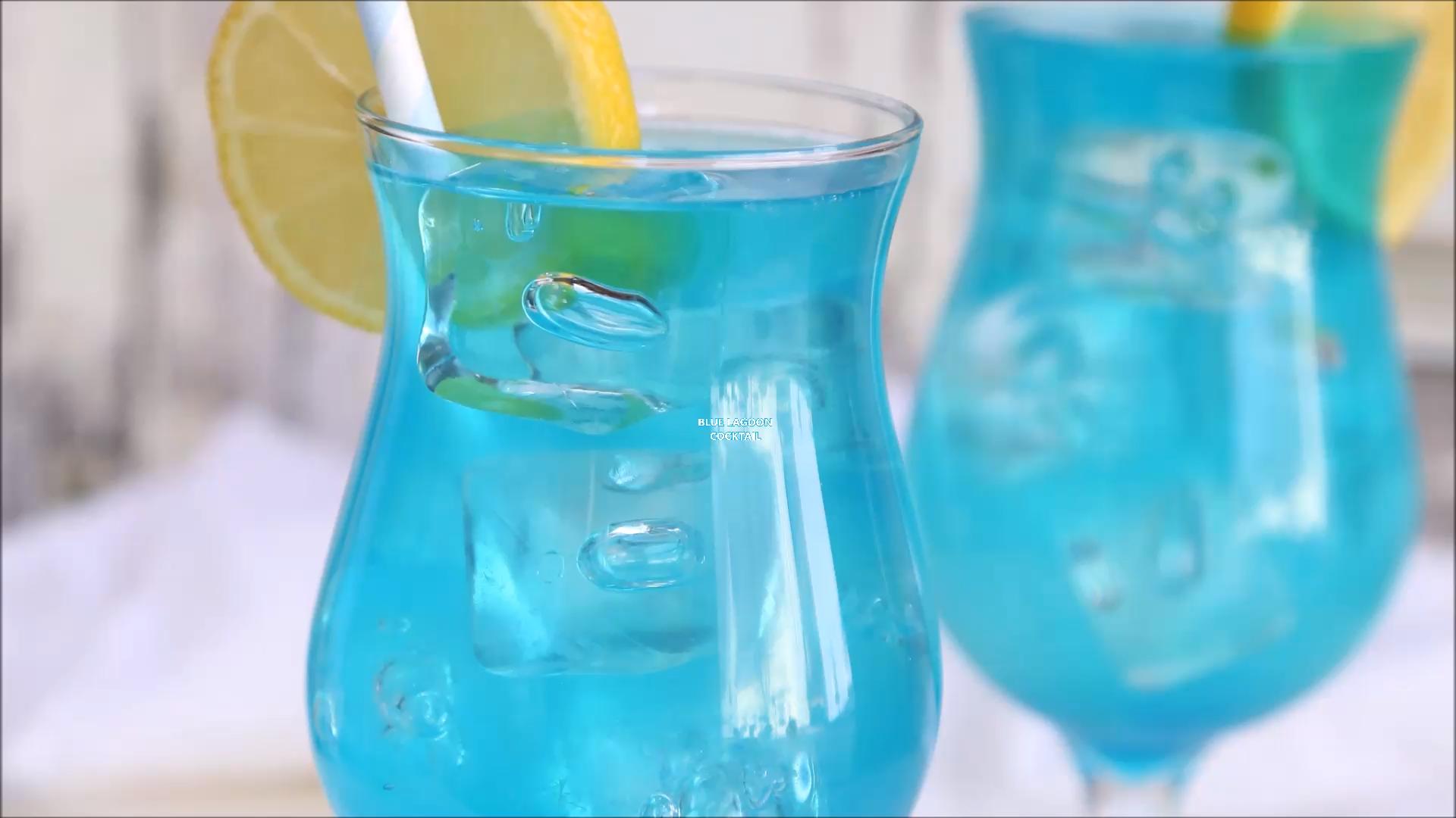 Blue Lagoon Drink Video Vodka Recipes Drinks Vodka Cocktails Easy Vodka Drinks Easy