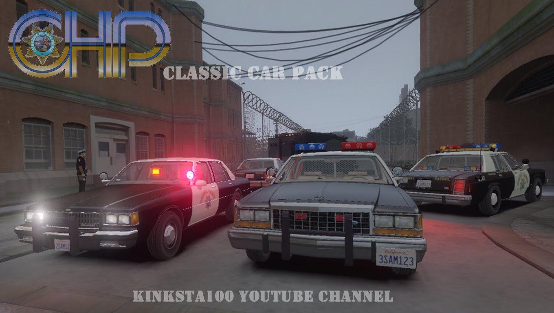 gta 4 chp classic police cars els v8 drot youtube police