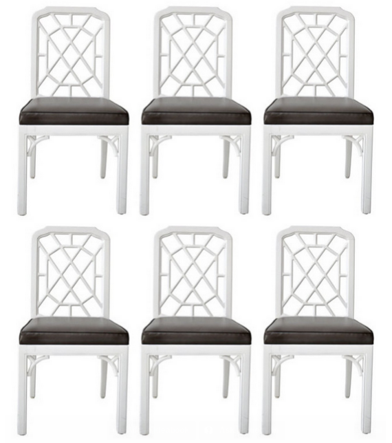 Phenomenal A Fave Chinese Chippendale Chairs In White Id Gmtry Best Dining Table And Chair Ideas Images Gmtryco