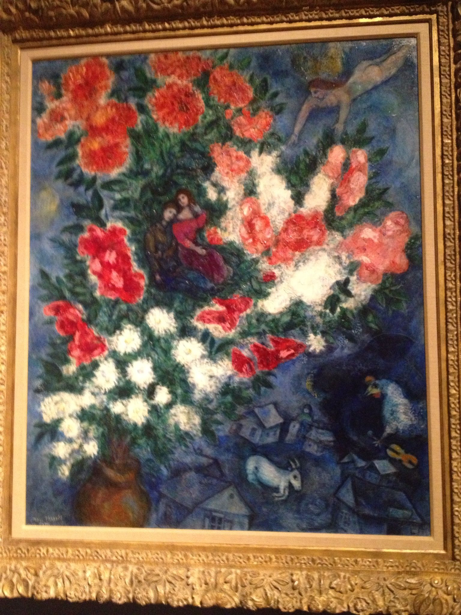Chagall Love War And Exile Exhibit