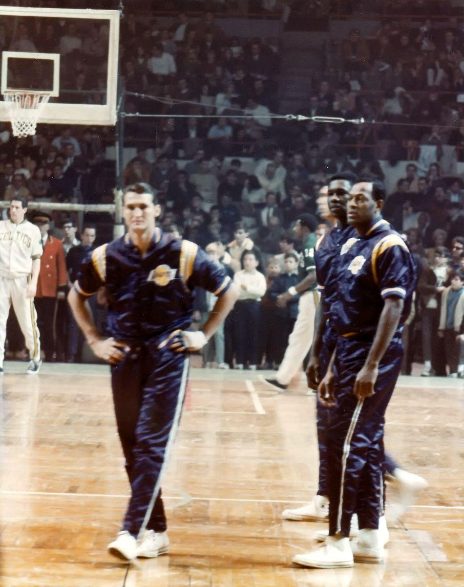 Jerry West & Elgin Baylor Rare NBA Photos Pinterest